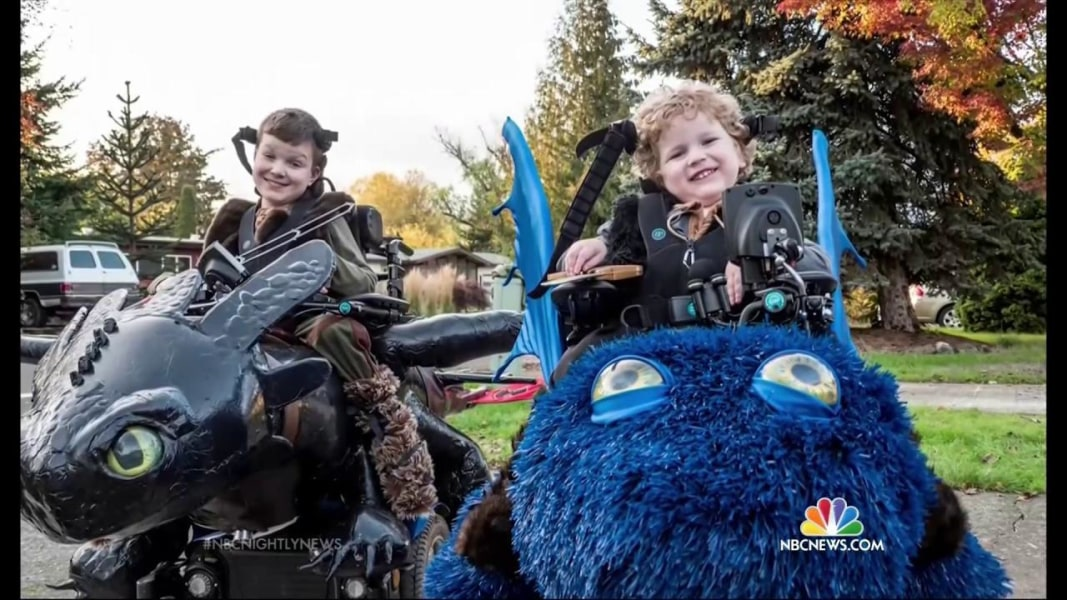 Magical Wheelchair' Offers Unforgettable Halloween for Disabled ...