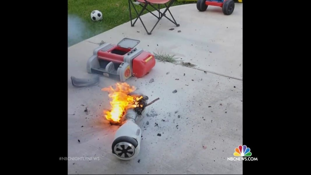 Hoverboards Catching Fire, Exploding - YouTube