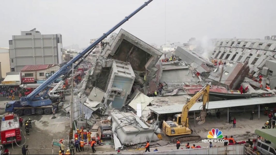 Taiwan Earthquake: More Than 150 Missing After Deadly 6.4 ...