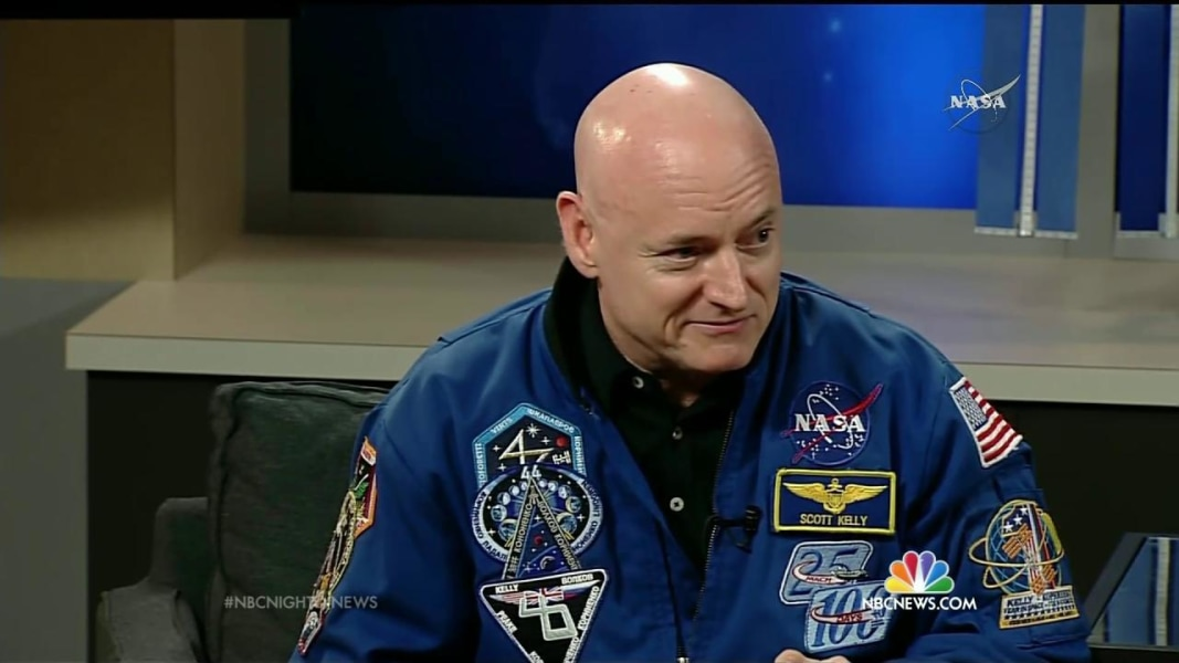 Mark Kelly: Welcome Back to the Planet After Year in Space ...