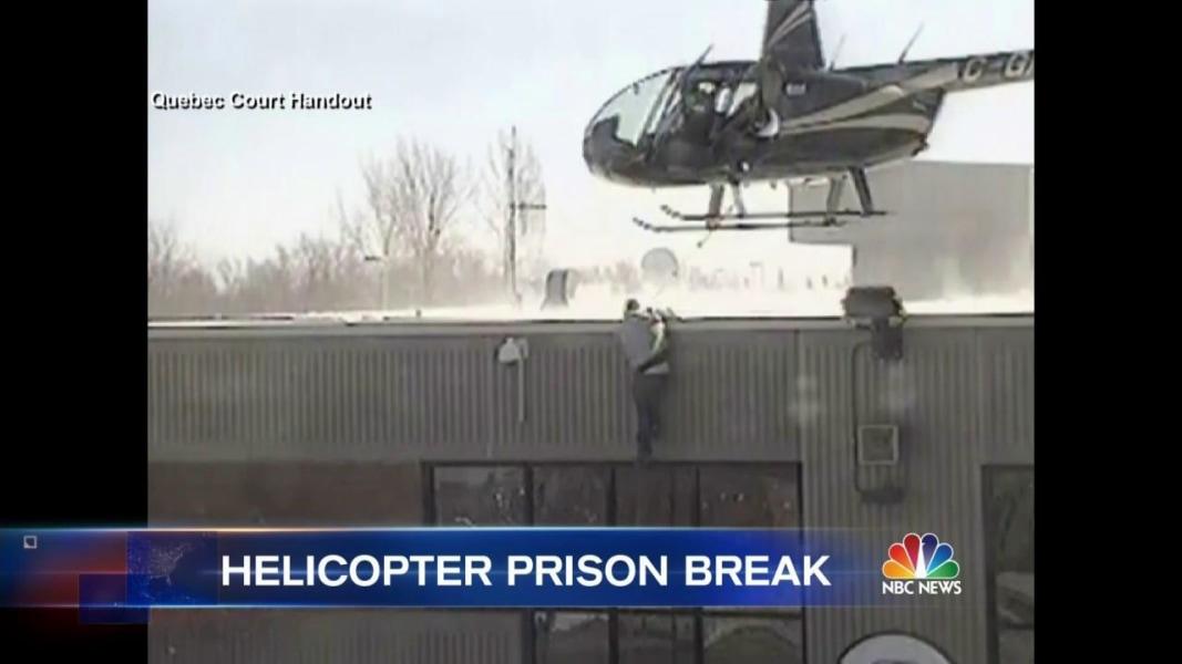 francia, detenuto evade in elicottero: fuga spettacolare