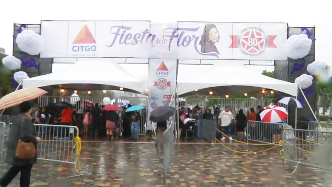 Selena fans flock to Flower Festival