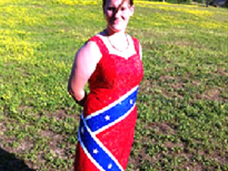Confederate flag dress gets teen banned from prom - NBC News