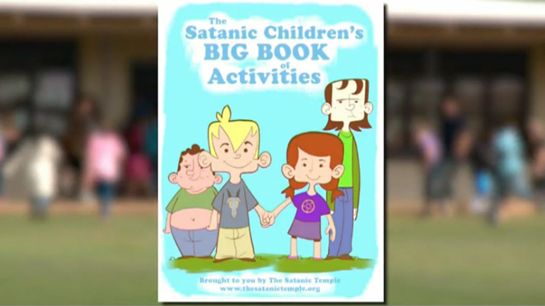 Group Pushes To Give Schoolkids Satanic Activity Books