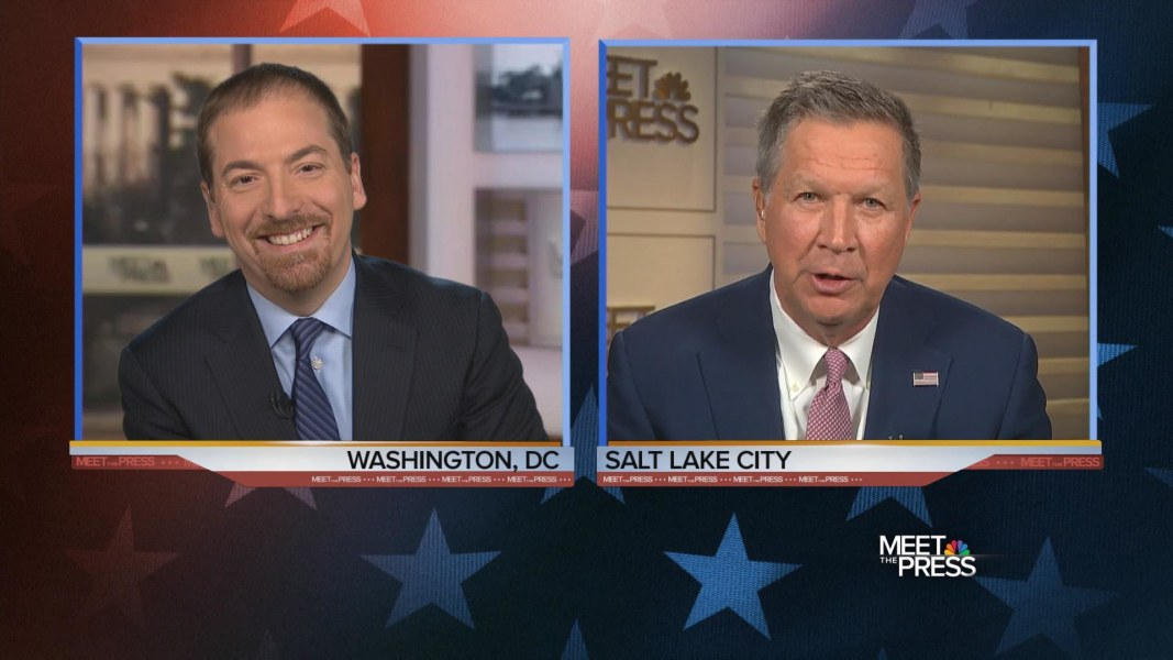 Kasich: 'Under No Circumstances' Will I Be Vice President ...