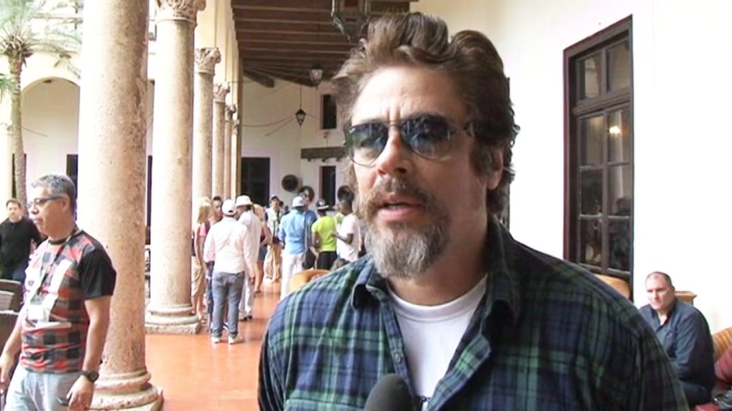 Bekannt Cuba Honors Benicio Del Toro, Actor Screens Pablo Escobar Film  ML65