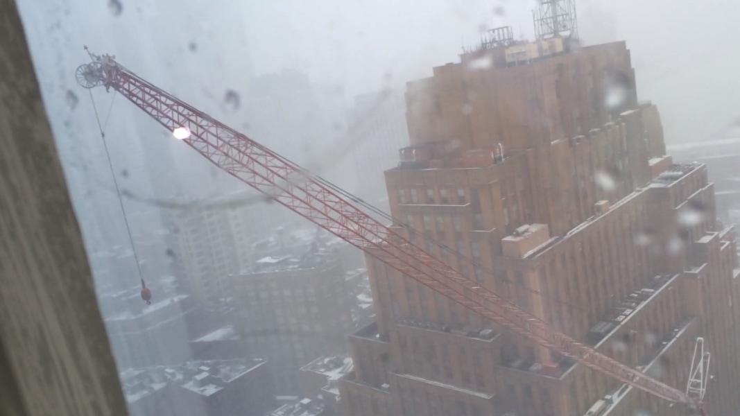 Tower Crane New Technology : Horrifying nyc crane collapse caught on camera nbc news