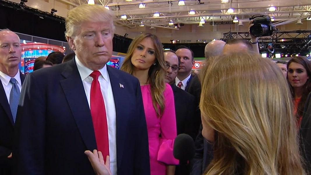 Trump: Breitbart Reporter Michelle Fields 'Made Up' Alleged