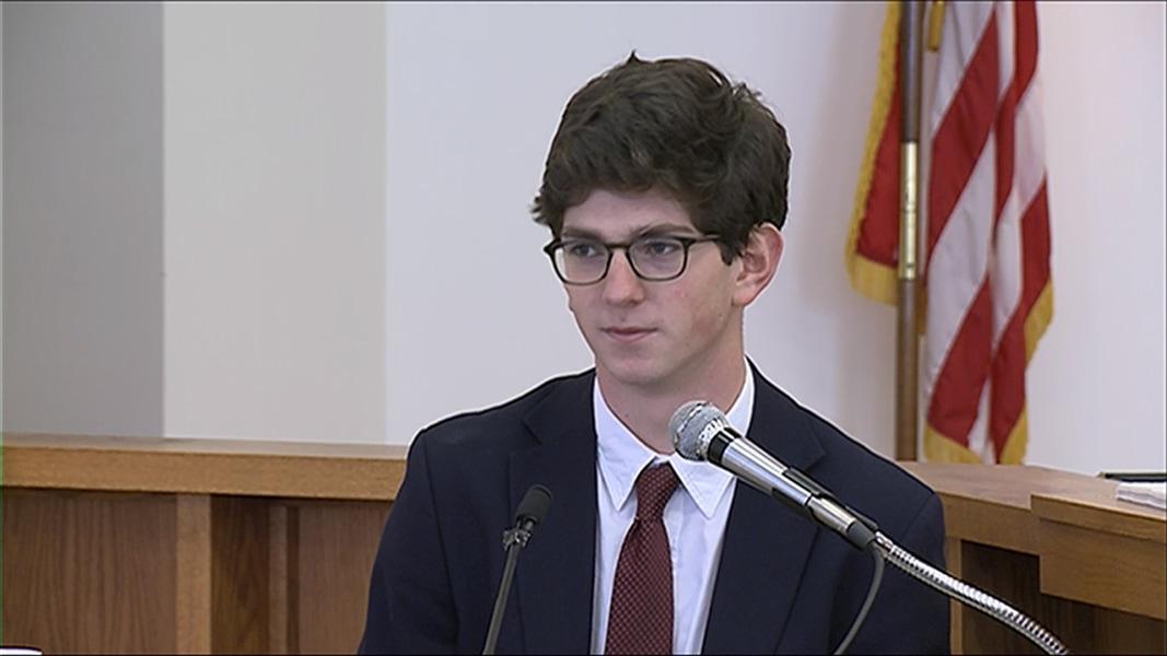 judge assault trial prep school graduate