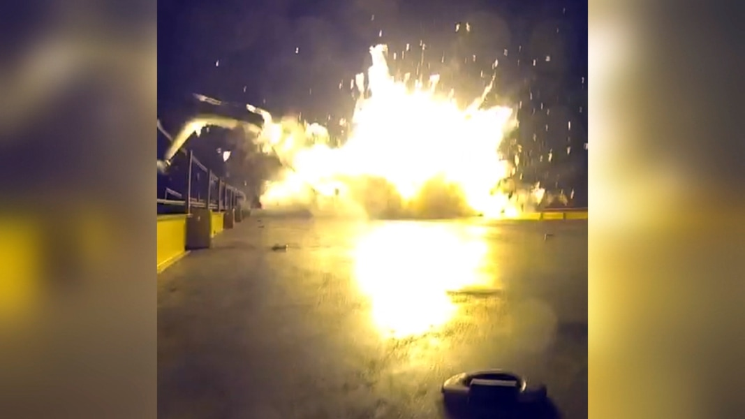 SpaceX Explosion: Footage Released from Failed Landing ...