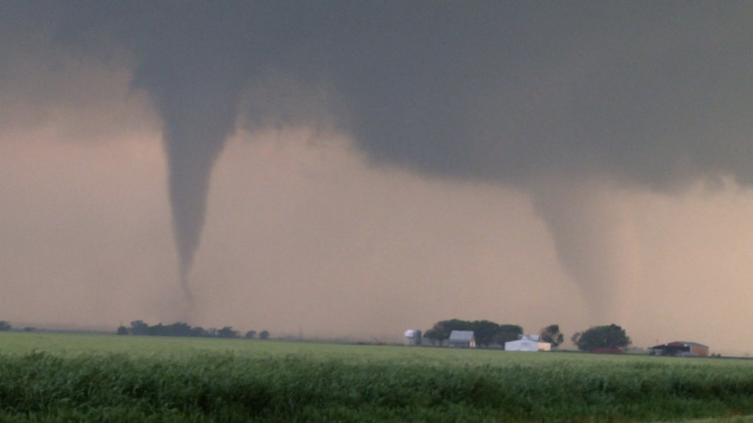 Blown Away 2 Tornadoes At Once Nbc News