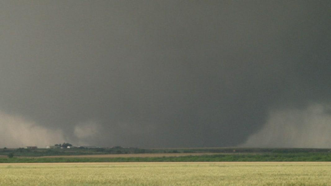 Blown Away Massive Wedge Tornado Tears Through Oklahoma