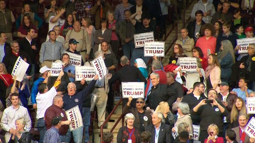 Trump Tells Rally Syria Refugees 'Probably' ISIS As Muslim ...