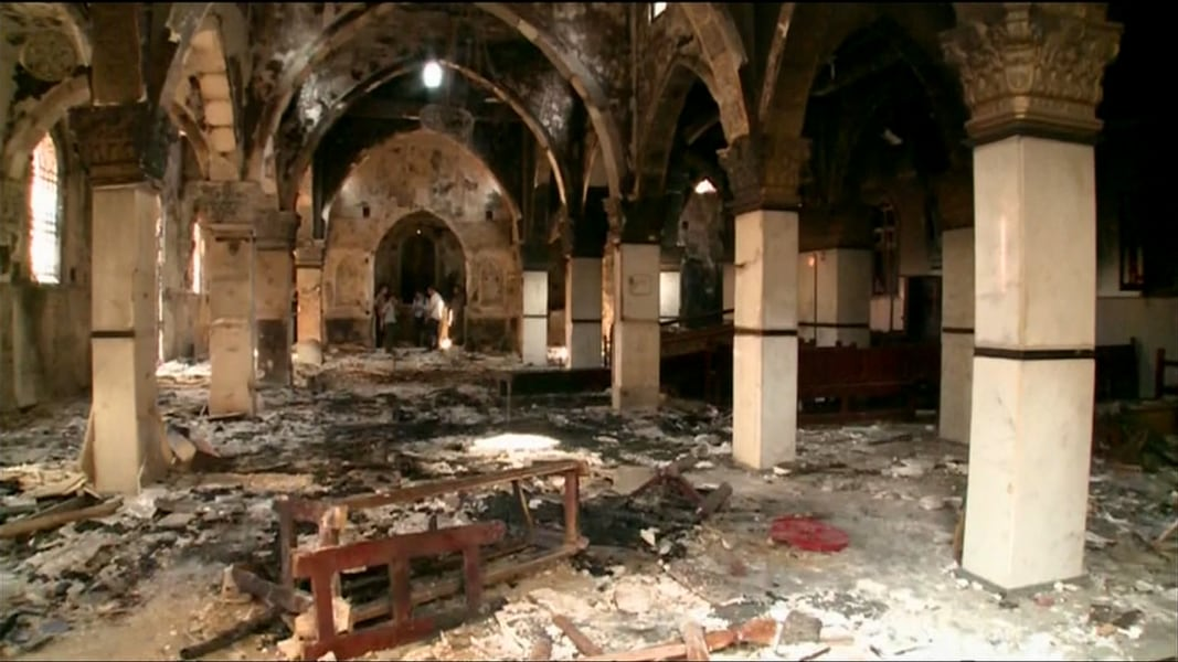 Image result for coptic church destruction