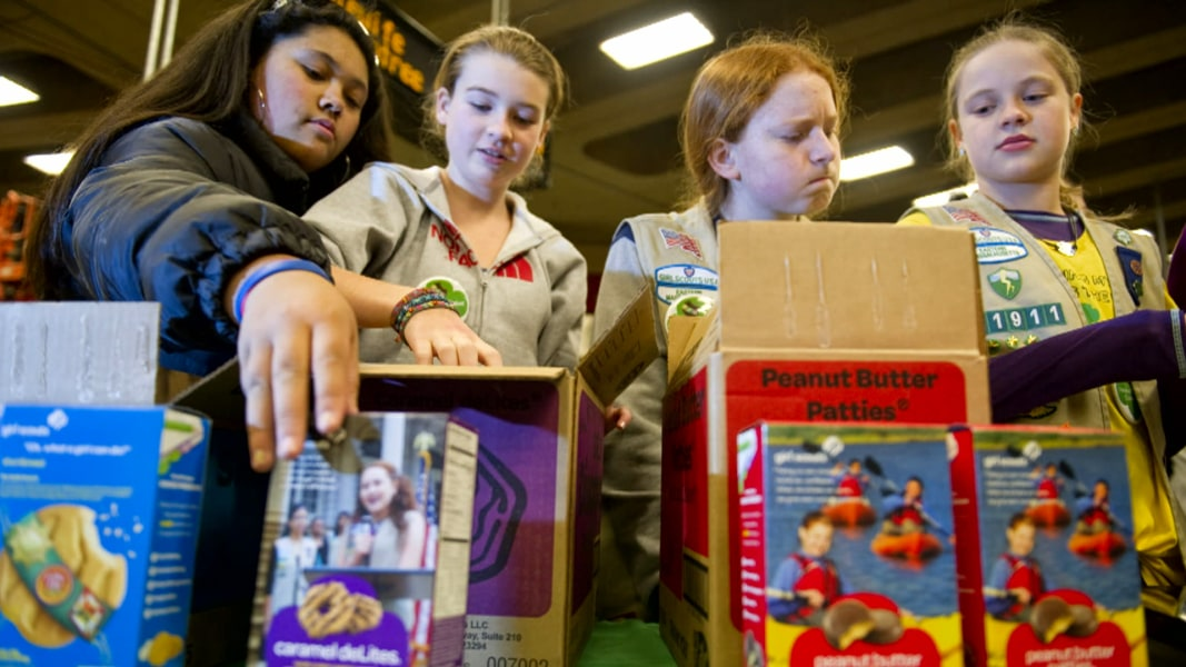 girl scouts cookie sales go digital   nbc news