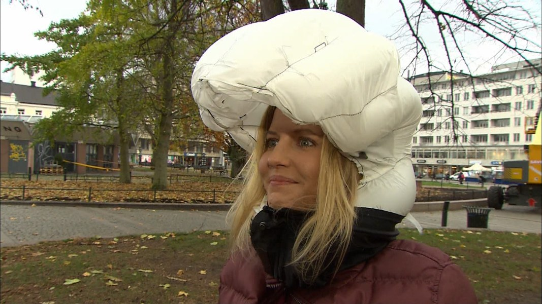 c7661c0253d Facebook · Twitter  Embed.  Invisible bike helmet  is an airbag for your  head ...