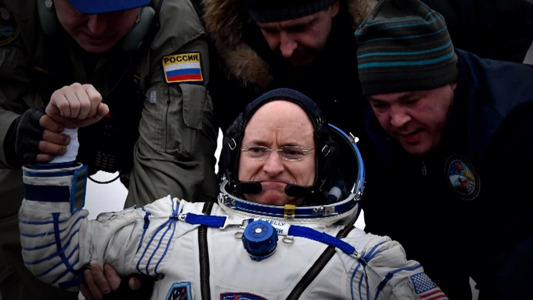 astronaut after space - photo #46