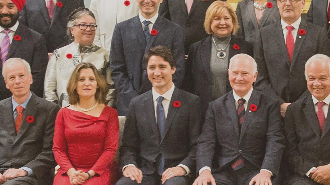 Canadian Prime Minister Justin Trudeau Appoints Gender-Equal ...