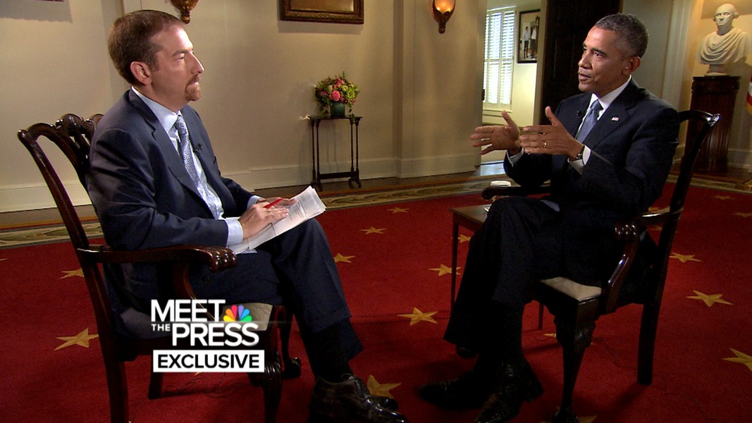 meet the press interview with obama 2014