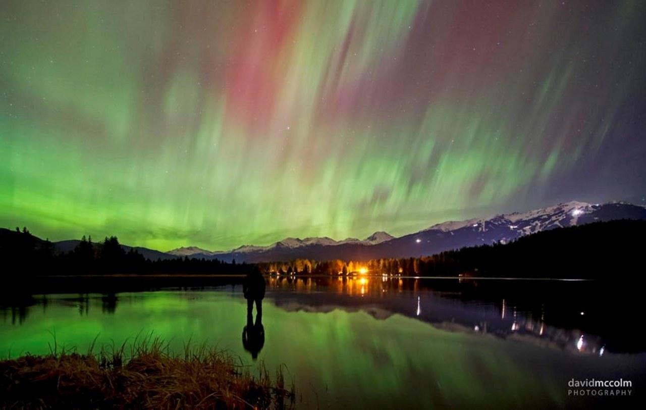 Image: Aurora over Whistler