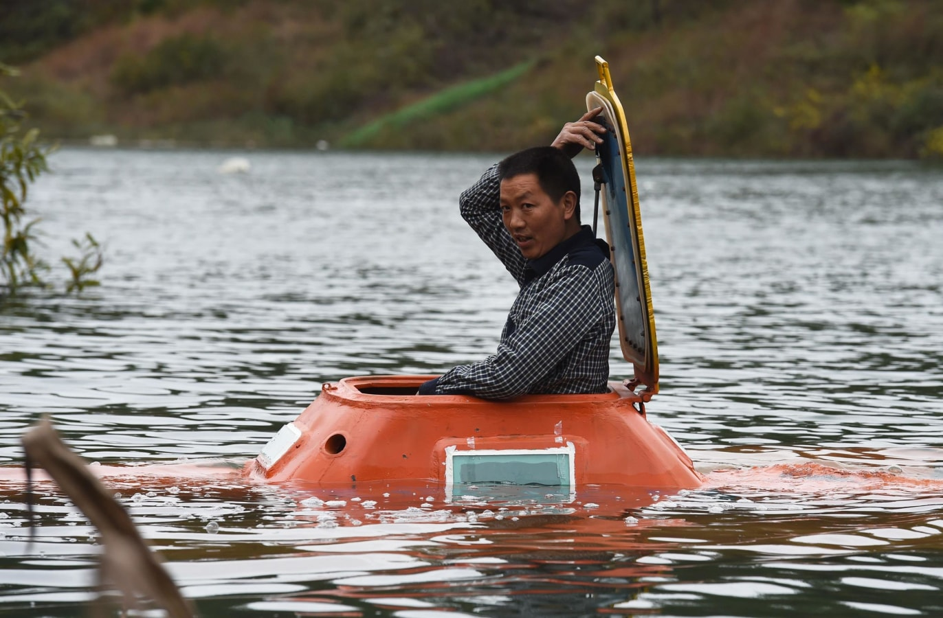 Image: CHINA-TRANSPORT-LIFESTYLE-SUBMARINE-OFFBEAT