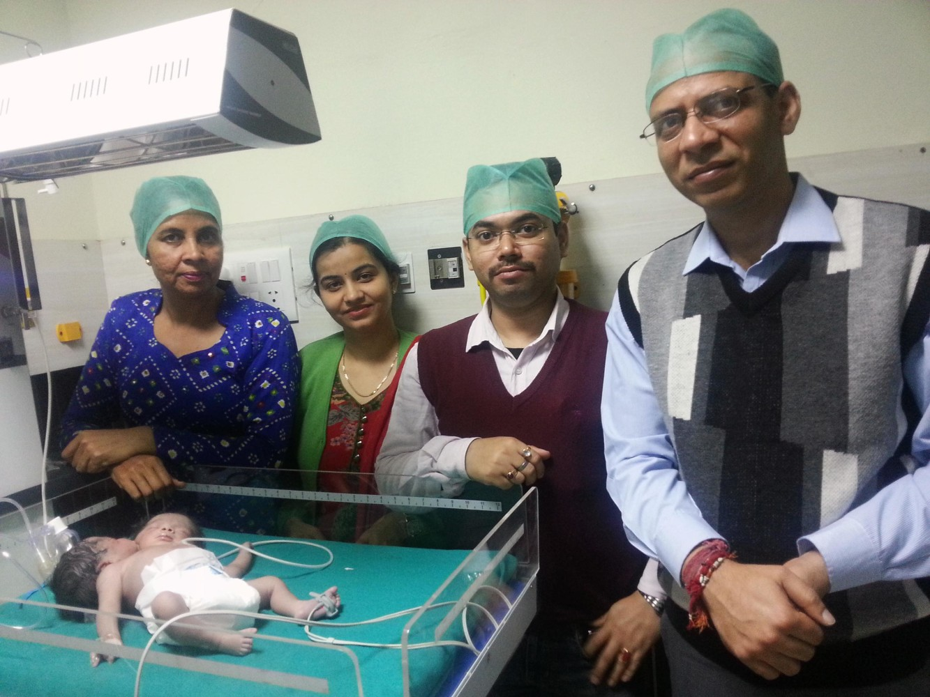 Girl Born in India With Two Heads Sent to New Delhi for ...