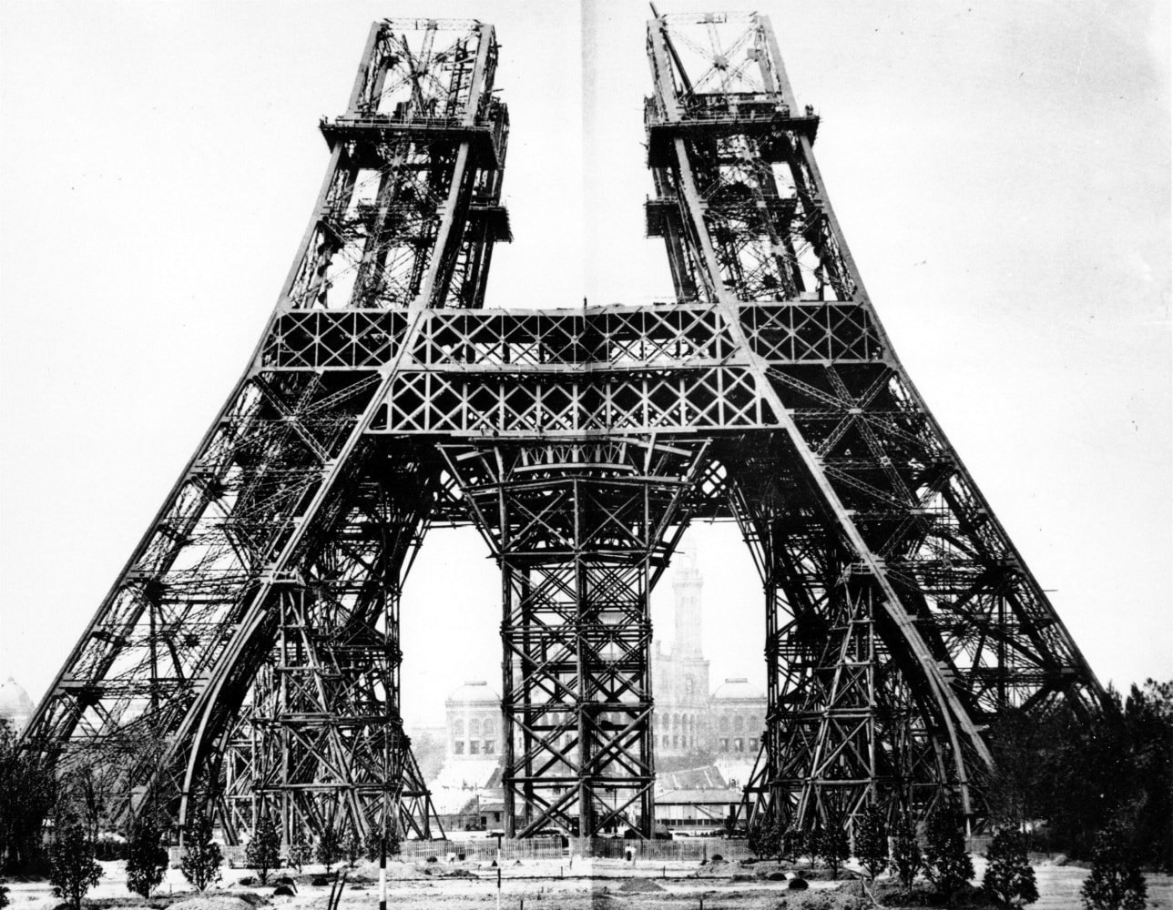 From The Vault: Inauguration Of The Eiffel Tower