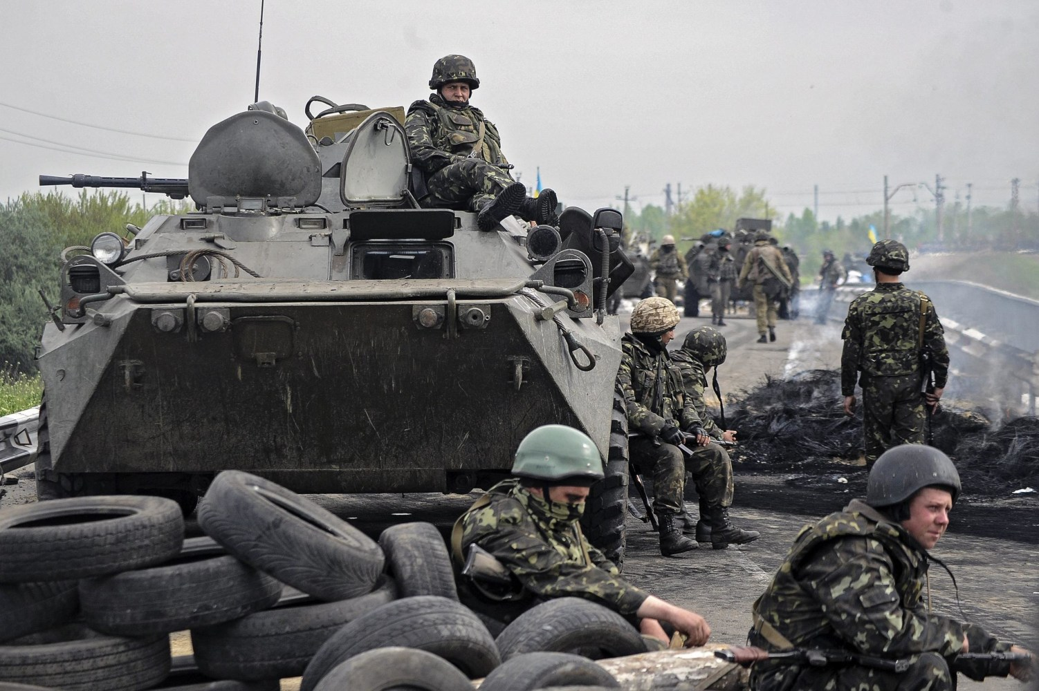 Ukraine Fighting Russia