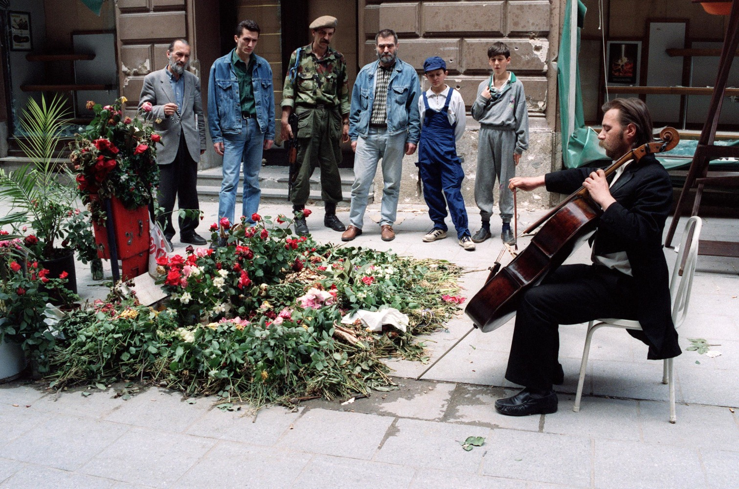 cellist of sarajevo Buy the cellist of sarajevo: the top 10 international bestseller main by steven  galloway (isbn: 9781843547419) from amazon's book store everyday low.