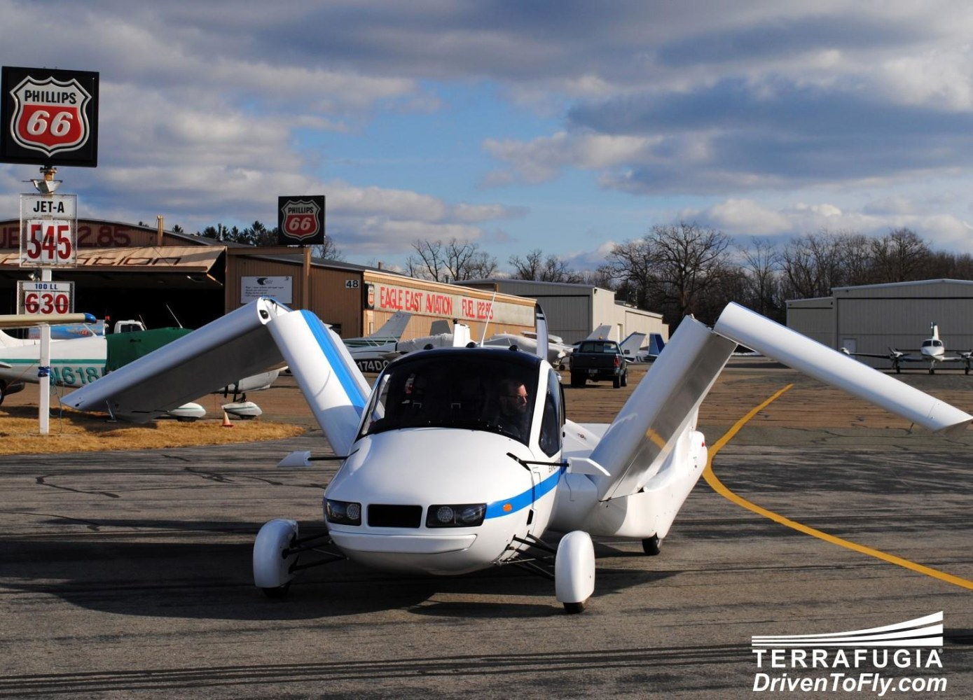 Terrafugia's Transition is a real-life flying car, or perhaps it is ...
