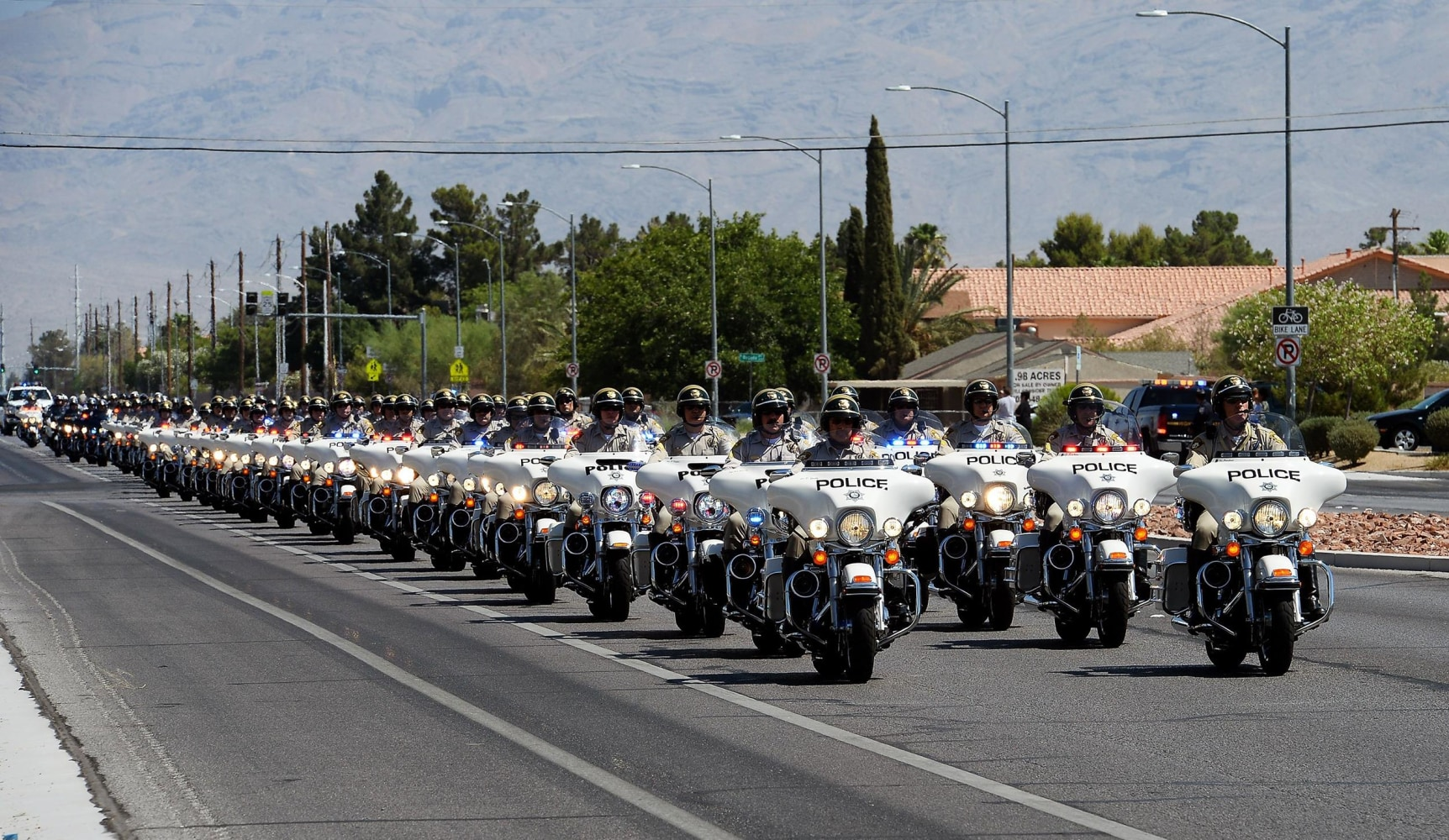 Las Vegas Mourns Slain Police Officer At Funeral Nbc News