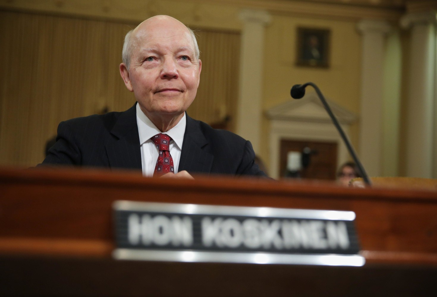 Facing impeachment threat, IRS chief visiting House panel