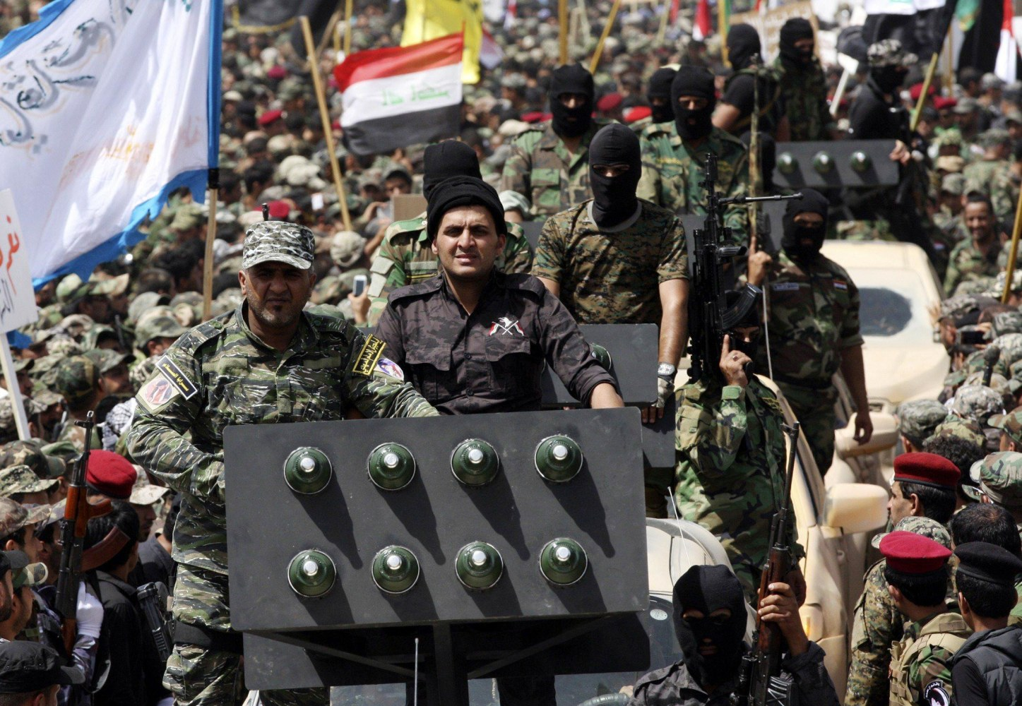 Mehndi Army : Muqtada al sadr issues warning to iraq s isis militants