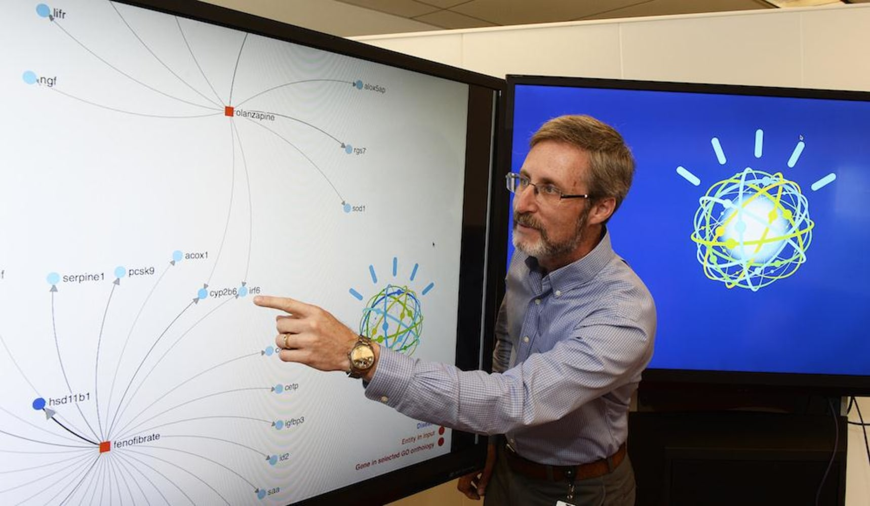 watson being used for medical research