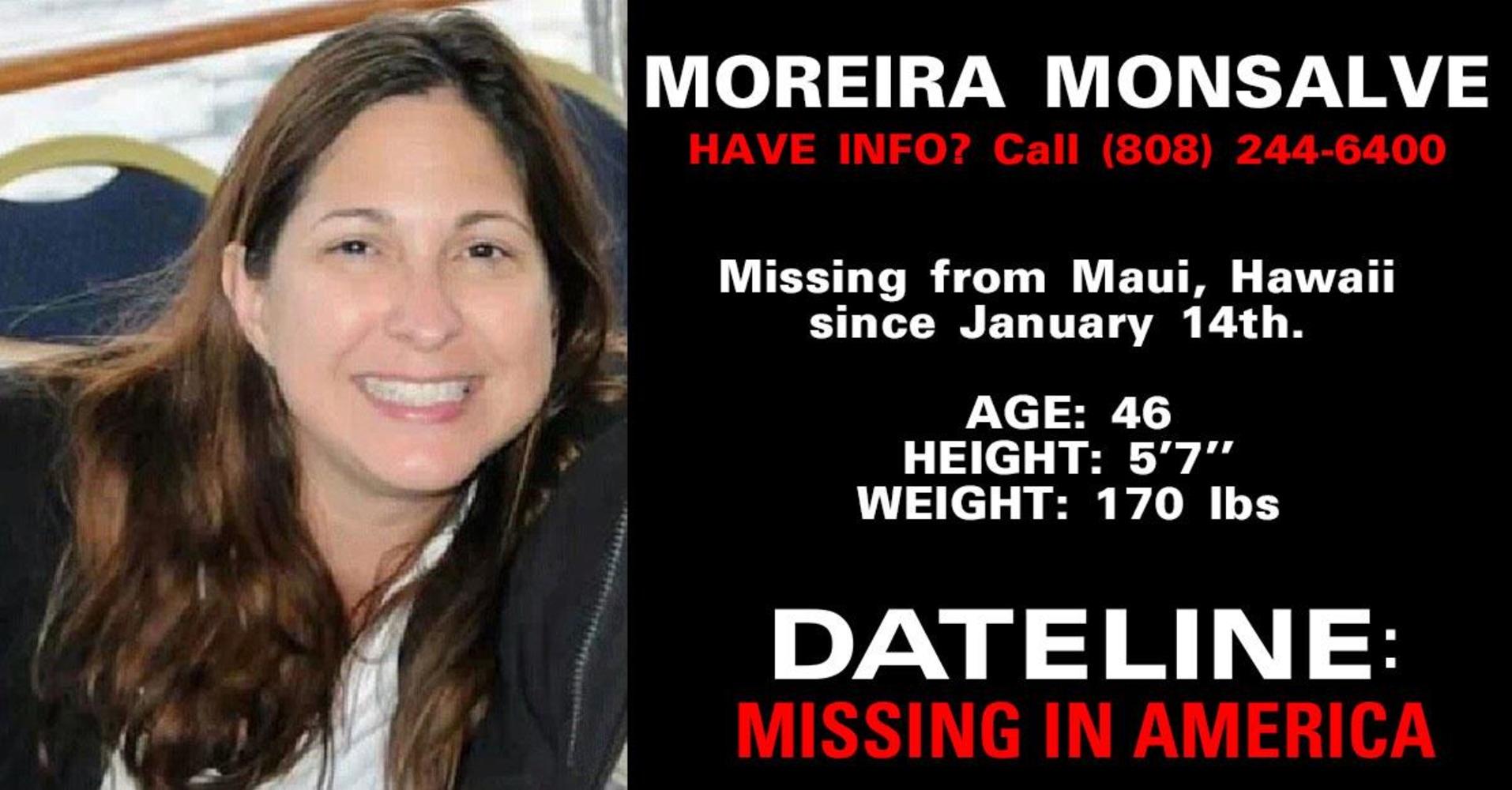 MISSING IN AMERICA: Moreira