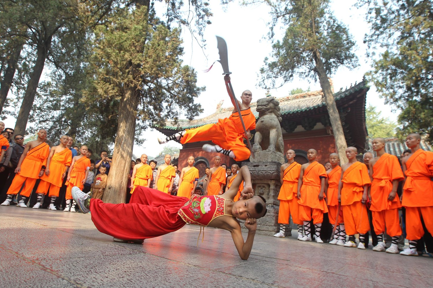 how to train with shaolin monks