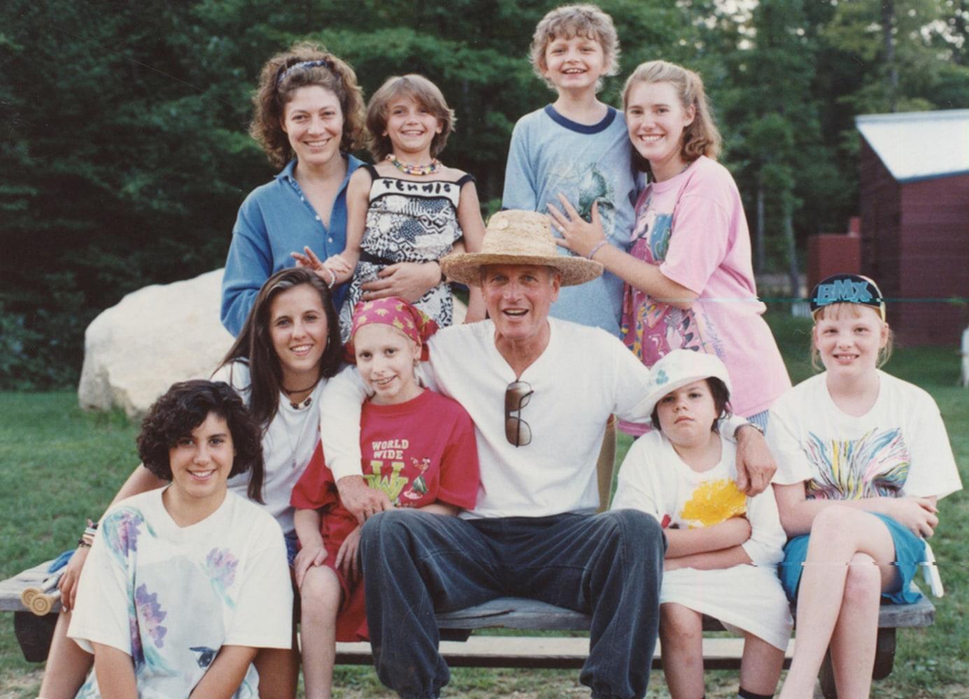 Пол ньюман и его дети фото
