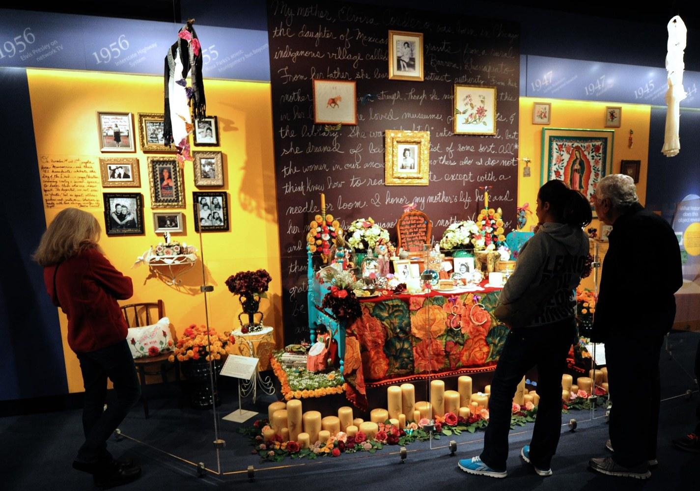 authors artists chefs share dia de los muertos celebrations image dia de los muertos altar