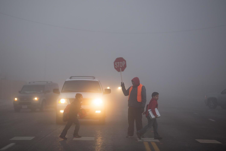 Heavy Morning Fog Enshrouds Downtown Dallas Nbc News