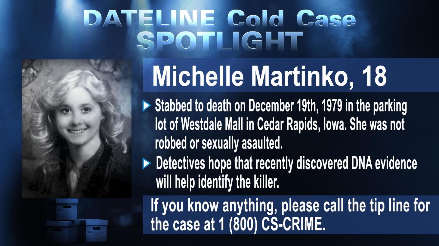 cold case spotlight michelle martinko