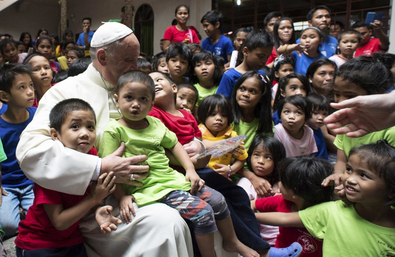 filipinos reaction towards papal visits About 25 million filipinos, or one quarter of the population, live on the equivalent of 60 cents a day or less, according to the latest official poverty surveys the.