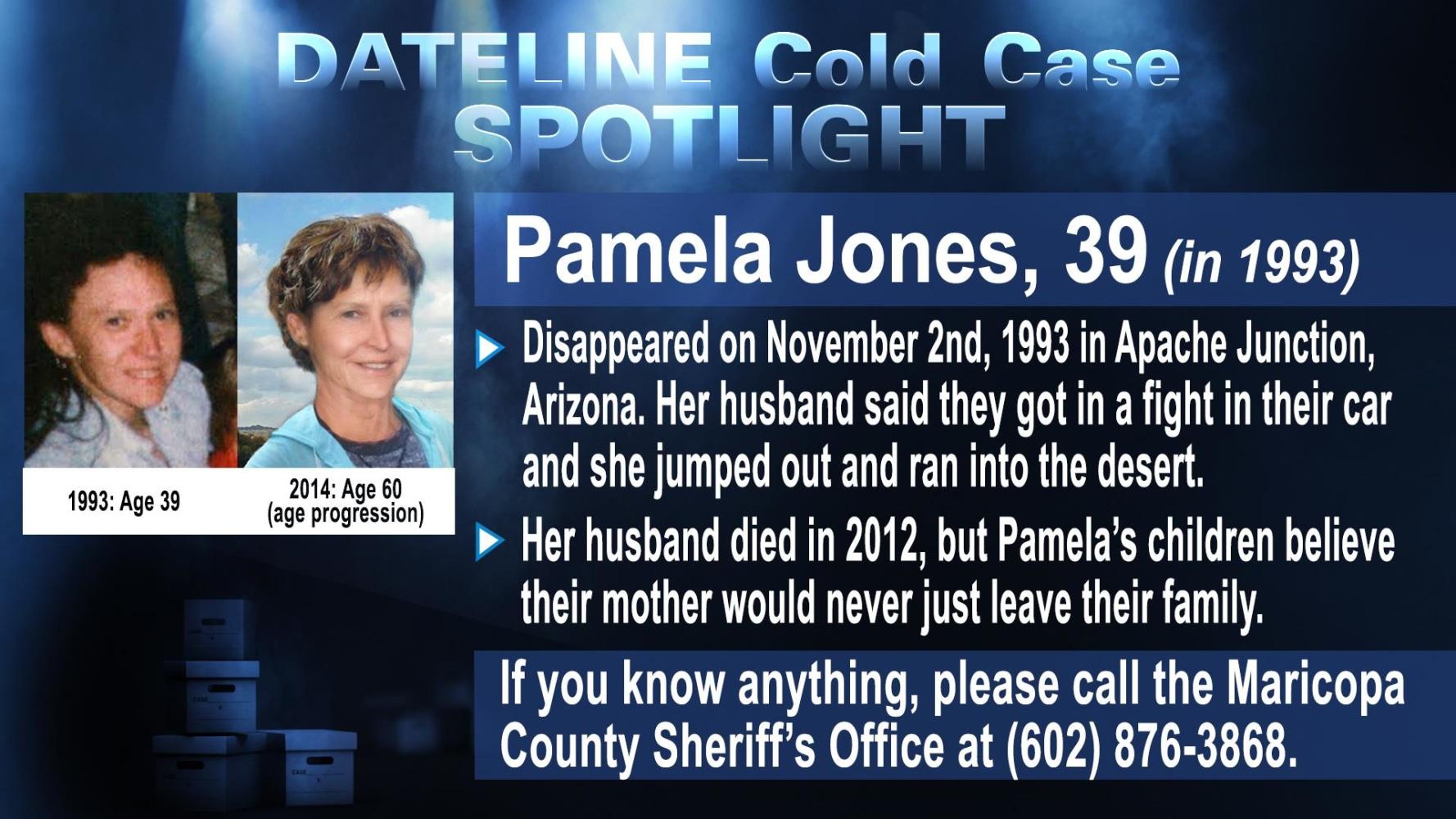 : Pamela Jones