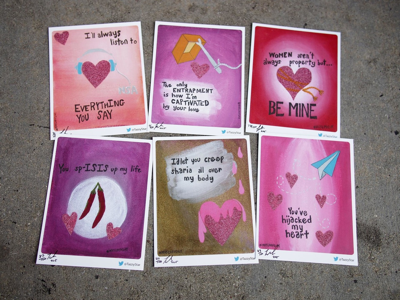 Youve Hijacked My Heart Muslim Valentines Day Cards Return – San Valentin Day Cards