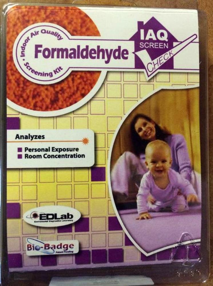 Lumber Liquidators Formaldehyde Test Kit