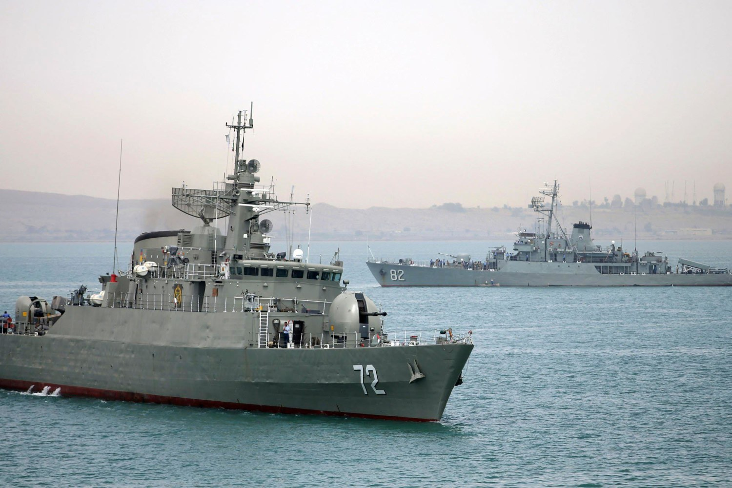 Iran Navy Warships