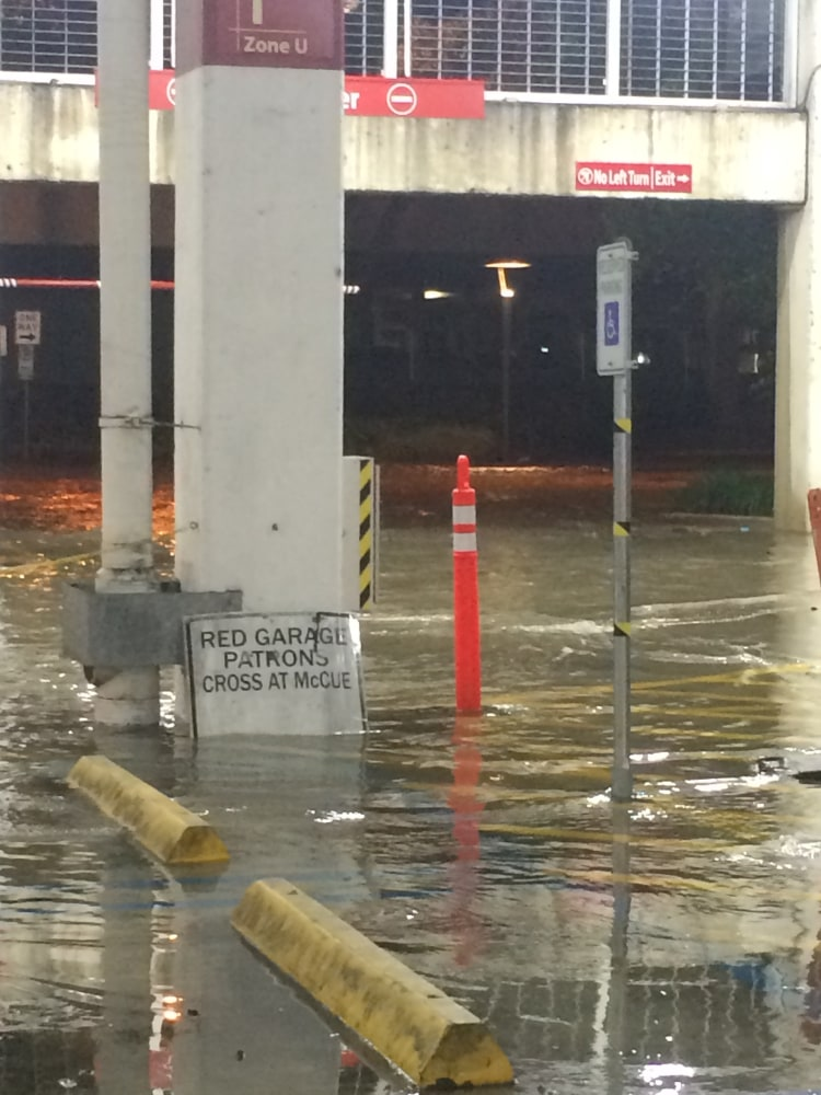 Houston Flooding Strands Workers at The Galleria Mall ...