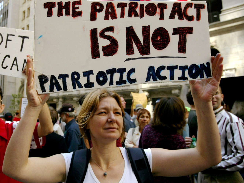 the patriot act essay