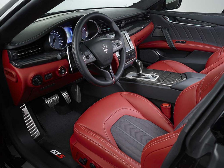 Silk Road Maserati Teams With Zegna For Unique Interior