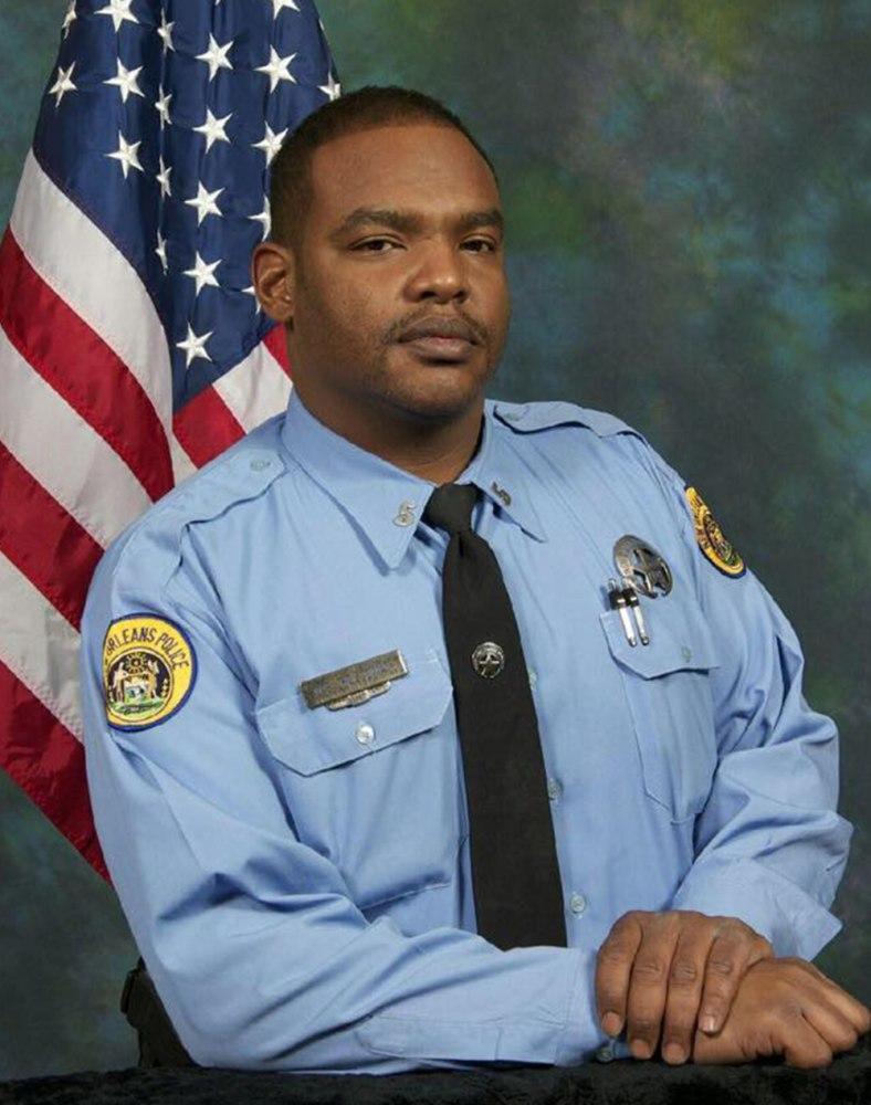 New orleans police arrest man suspected of killing cop for Police orleans