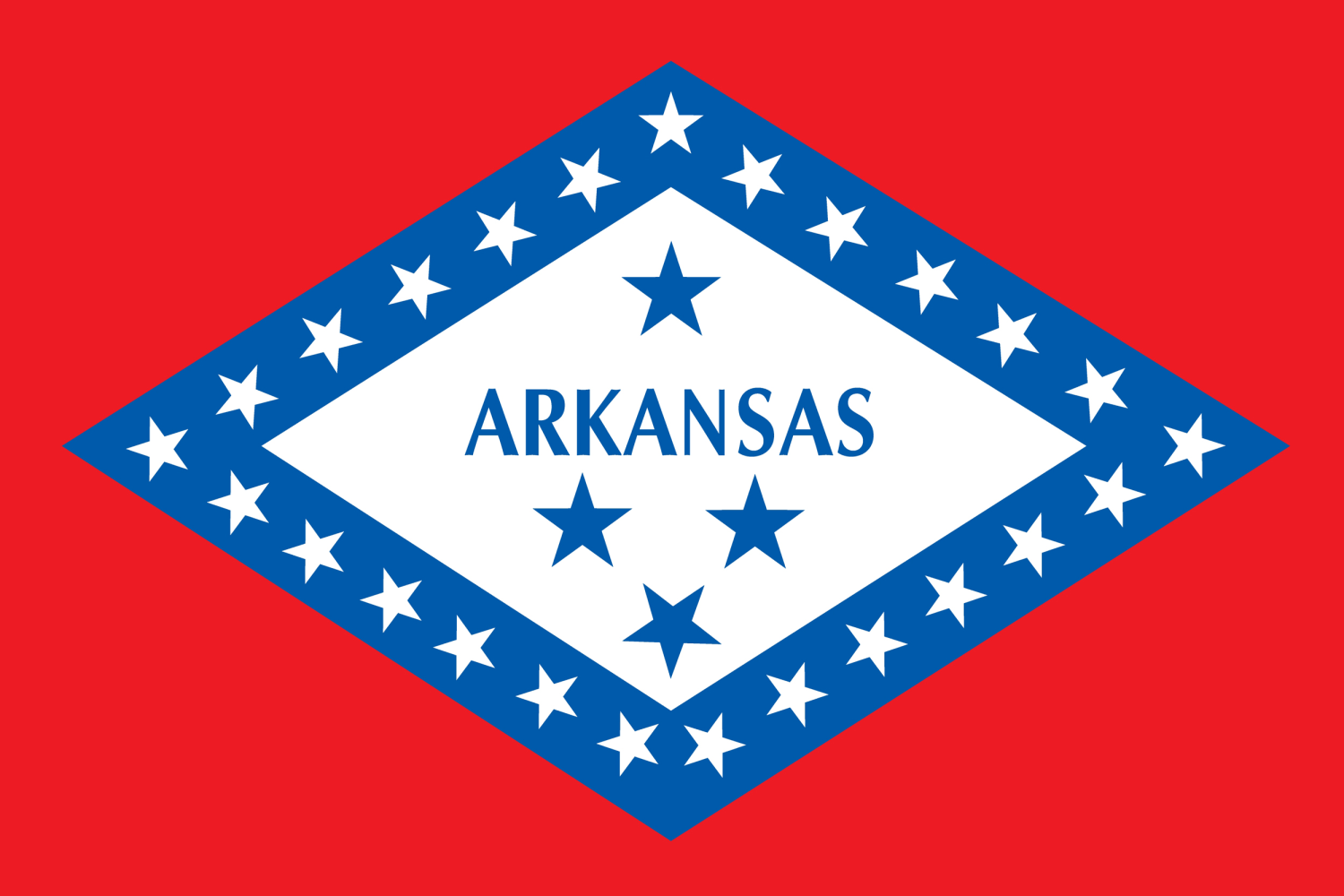 Flags of some southern states still include confederate symbols arkansas state flag biocorpaavc